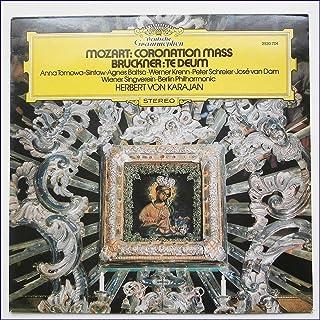 2530 704 Mozart Kronungsmesse/Bruckner Te Deum Karajan