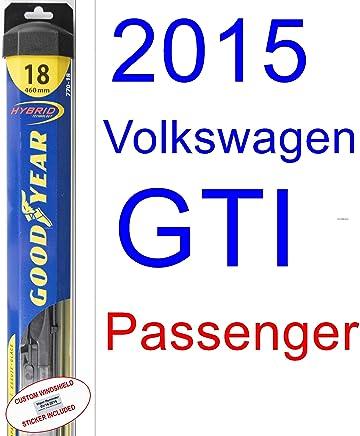 2015 Volkswagen GTI Wiper Blade (Passenger) (Goodyear Wiper Blades-Hybrid)