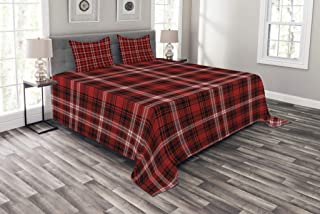 Best red plaid bedspread Reviews