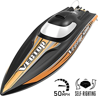 VOLANTEXRC Remote Control Boat RC Boat Vector SR80 32inch 50mph High Speed RC Watercraft Auto Self-Righting, PNP Version NO Remote No Battery (798-4 PNP)