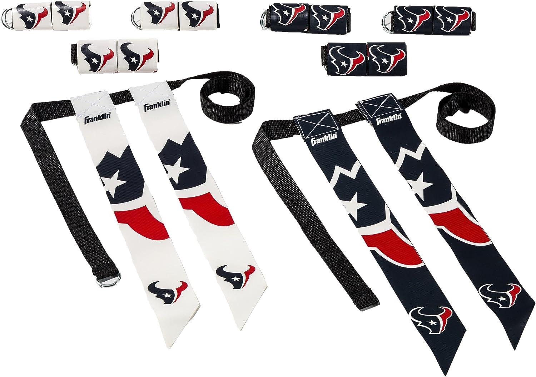 10 ceintures et 10 drapeaux Full Force Flag Football Set avec fermeture velcro 2 couleurs