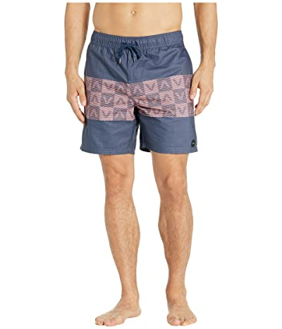 RVCA Out There Elastic Shorts 17 (Moody Blue) Men