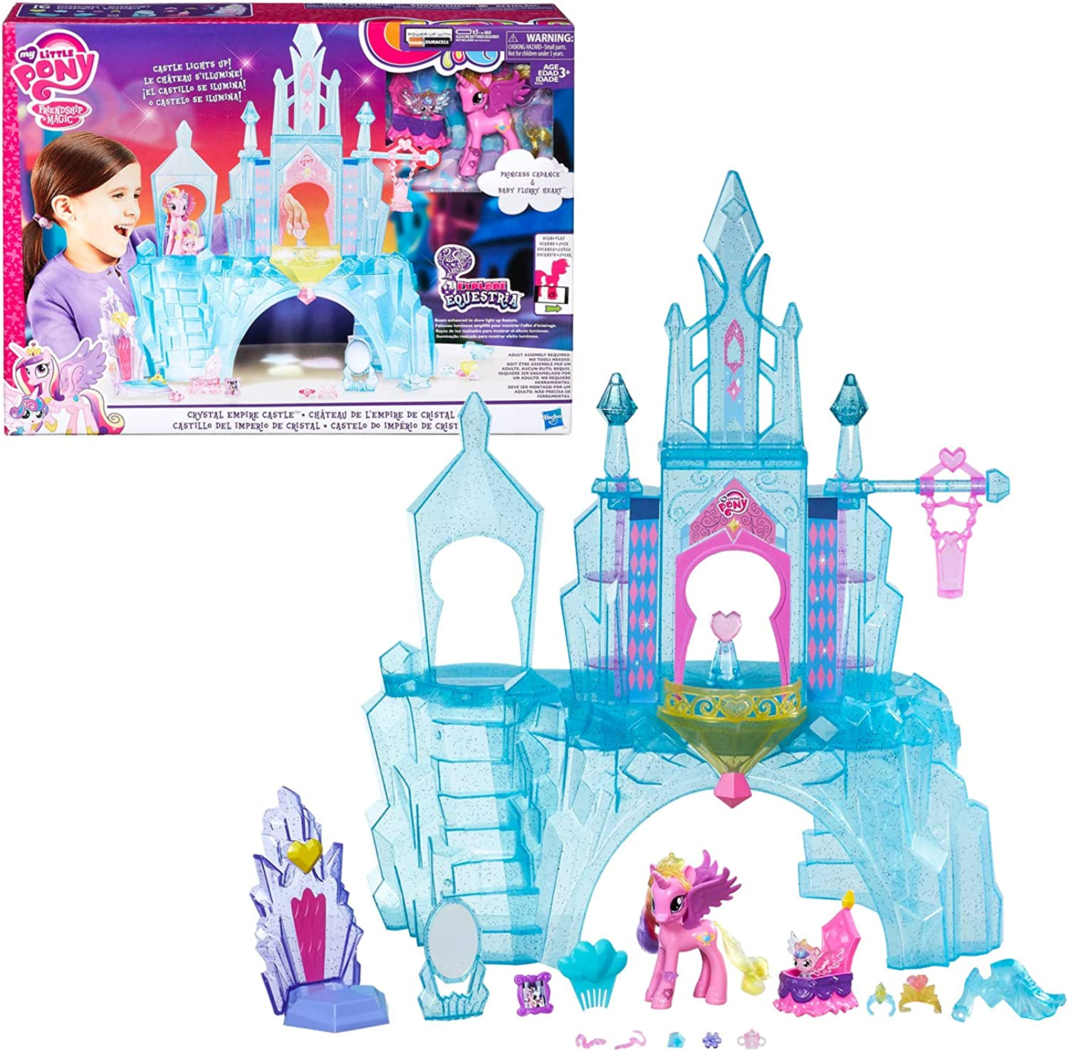 My Little Pony Explore Equestria Crystal Empire Castle by My Little Pony
