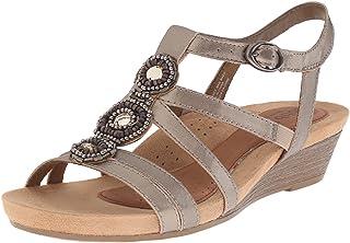 7b47ba1ee1c Amazon.ca  Silver - Sandals   Women  Shoes   Handbags