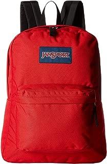Jansport Superbreak Backpack, Black (T936) (Red)