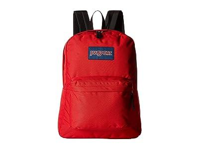 JanSport SuperBreak(r) (Red Tape) Backpack Bags