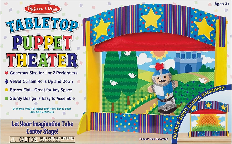 Melissa & Doug Tabletop Puppet Theater by Melissa & Doug
