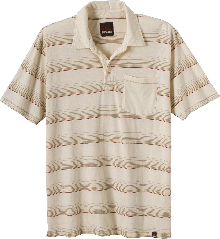 prAna Men's 予約販売 期間限定特別価格 Marco Polo Sleeve Short