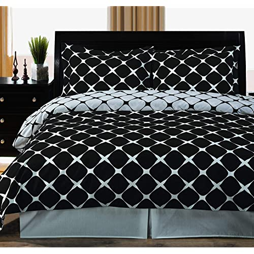 Urban Fab 144 TC Pure Cotton Double Bedsheet with 2 Pillow Covers - King Size
