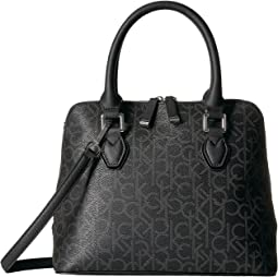 Calvin Klein - Hudson Top Zip Dome Satchel