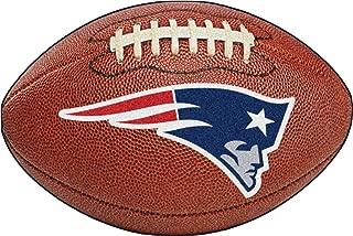 FANMATS NFL New England Patriots Nylon Face Football Rug