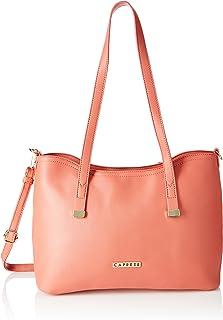 Caprese Shyla Women's Large Tote Bag (Pink)