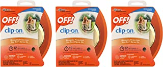 OFF! Clip On Mosquito Repellent Fan Unit 1 ea ( Pack of 3)