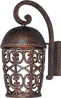 Designers Fountain 97593-BU Amherst 10 Inch Wall Lantern - Dark Sky