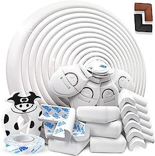 comprar comparacion DEASANA® Protector Esquinas Bebé Blanco 7+ Metros Total 1 Rollo Protector Para Esquinas Y Bordes Bebé 12 Cantoneras Protec...