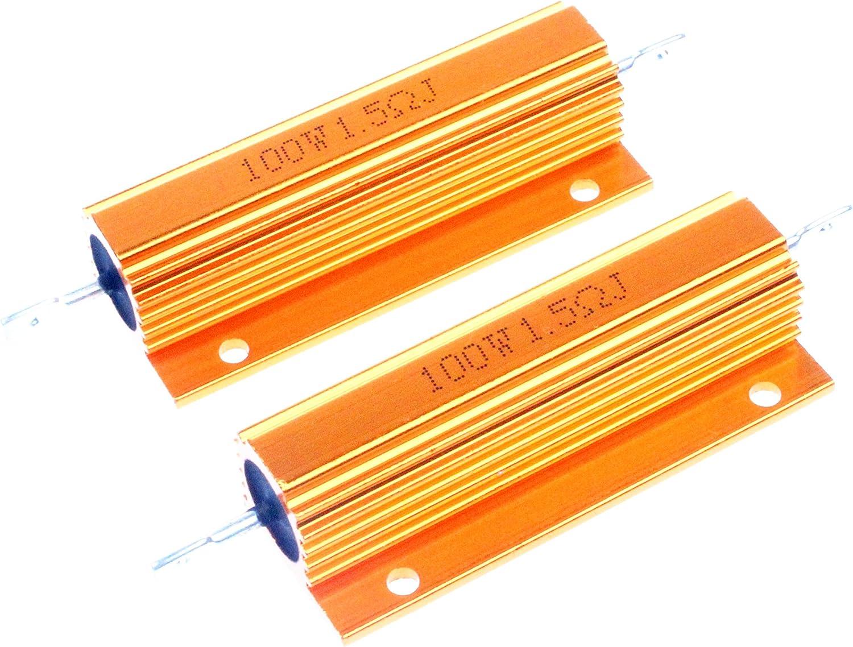 LM Rapid rise YN 100 Watt 1.5 Ohm Denver Mall Aluminium Shell 5% G Electronic Resistors