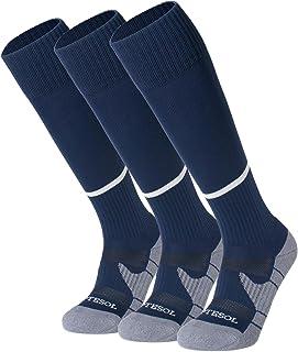 APTESOL Knee High Soccer Socks (1/3/5 Pack) Team Sport...