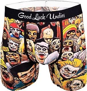 Good Luck Undies Men's Zombie Horde Boxer Brief Underwear