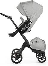 Stokke Xplory Stroller Black V5, Grey Melange