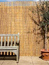 Papillon Bamboo Slat Natural Garden Fence Screening Roll Pri