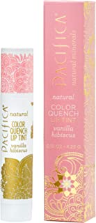 Pacifica Color Quench Lip Tint Vanilla Hibiscus, 0.15oz.