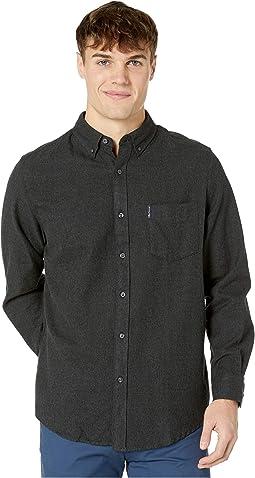 Long Sleeve Twisted Brushed Shirt
