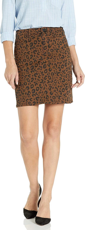 Sanctuary Women's Sia Short Length Leopard Print Skirt