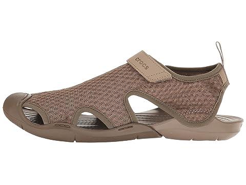 Blackwalnut Mesh Swiftwater Crocs Sandale pour courses Faire les xwqnPvP