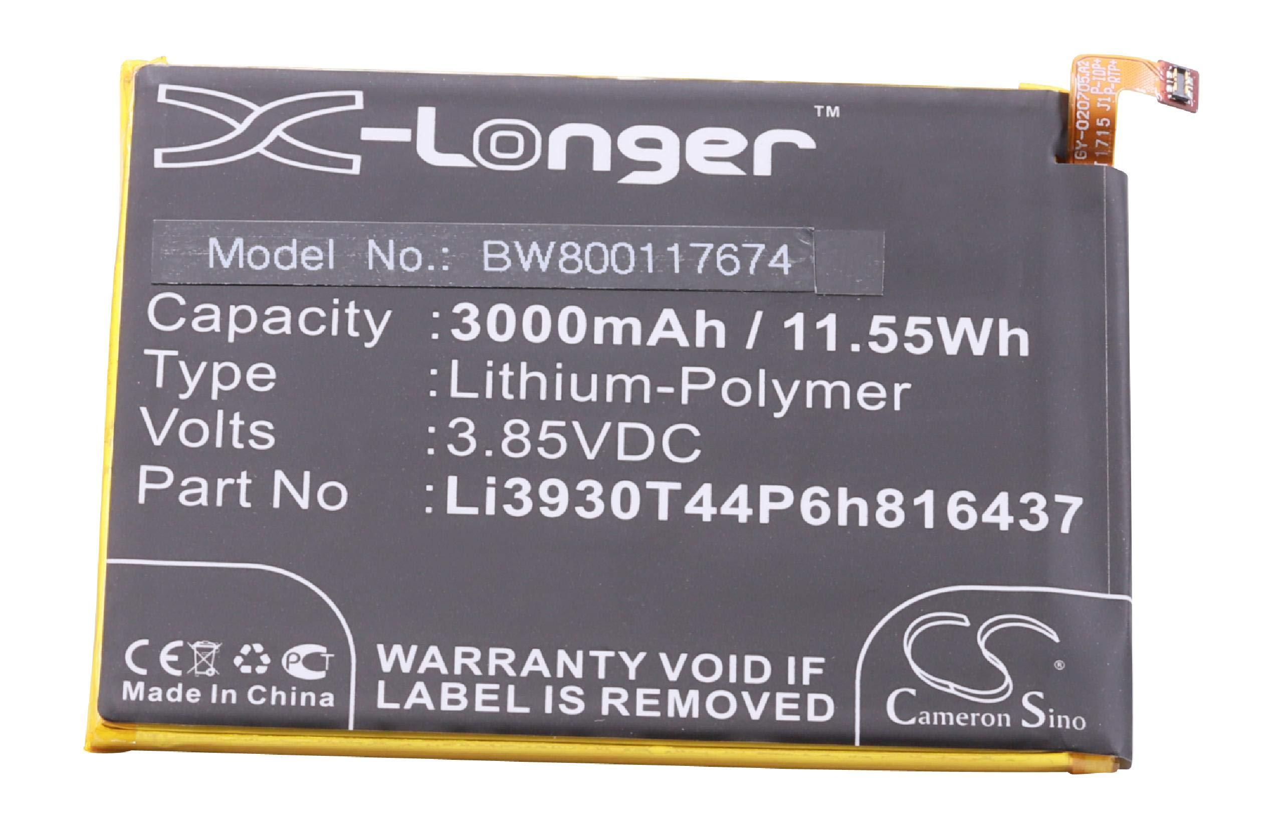 vhbw Litio polímero batería 3000mAh (3.85V) para móvil Smartphone teléfono Vodafone Smart V8, VFD 710, VFone 6+: Amazon.es: Electrónica