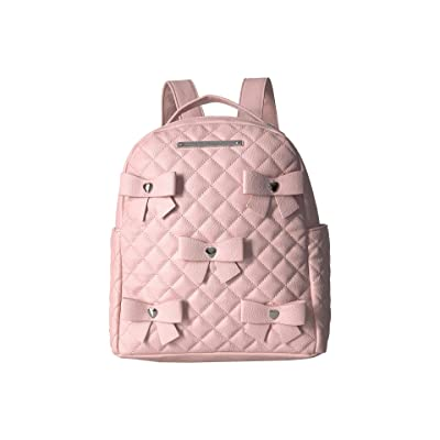 Betsey Johnson Bows Backpack (Blush) Backpack Bags