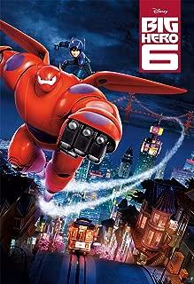 Movie Poster Big Hero 6 (2014) - Fly - 13 in x 19 in Flyer Borderless + Free 1 Tile Magnet