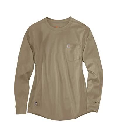 Carhartt Flame-Resistant Force(r) Cotton Long Sleeve Crew