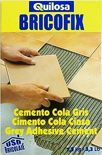 comprar comparacion Quilosa T088104 Bricofix Cemento Cola Gris