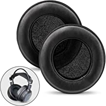 BRAINWAVZ XL Large Sheepskin Leather Replacement Memory Foam Earpads - Suitable for Many Other Large Over The Ear Headphones - Sennheiser, AKG, HifiMan, ATH, Philips, Fostex, Sony (Sheepskin Leather)