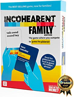 Incohearent Family Edition - The Family Game Where You Compete to Guess The Gibberish - by What Do You Meme? Family