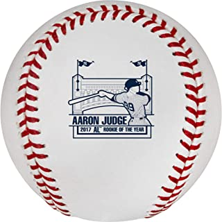 Sports Memorabilia Aaron Judge New York Yankees Rawlings 2017 AL Rookie of The Year Logo Baseball - MLB Baseballs