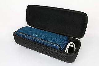 ソニー SONY ワイヤレスポータブルスピーカー SRS-XB31 対応 専用保護 キャリングケース 旅行収納 (ブラック)