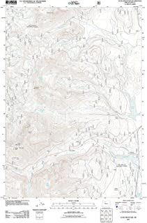 Oregon Maps - 2011 Echo Mountain, OR USGS Historical Topographic Map - Cartography Wall Art - 33in x 44in