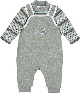 Edjude Strampler Neugeborene Neutral Baby M/ädchen Jungen Bodys Einteiler Langarm Schlafstrampler Rei/ßverschluss Taste Hose 0-24 Monate