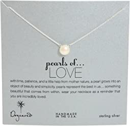 Dogeared - Pearls of Love Necklace