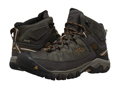KEEN Targhee III Mid Waterproof (Black Olive/Golden Brown) Men