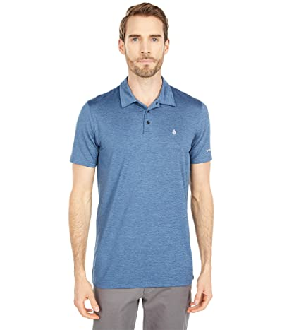 Volcom Hazard Perf Short Sleeve Polo (Rinse 1) Men