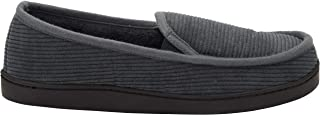 KingSize Men's Big & Tall Cotton Corduroy Slippers