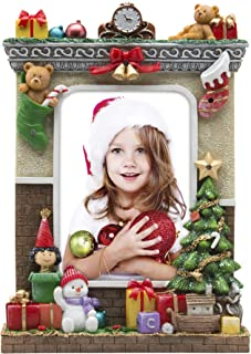 light up christmas frame 5x7