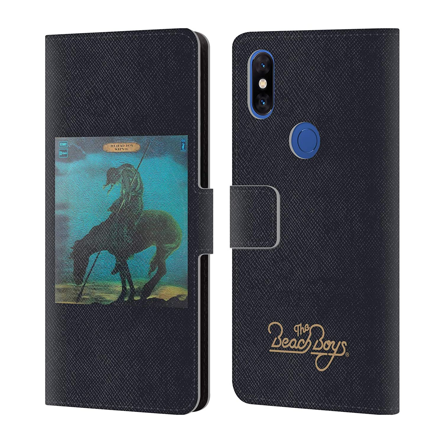 Official The Beach Boys Surfs Up Album Cover Art Leather Book Wallet Case Cover Compatible for Xiaomi Mi Mix 3
