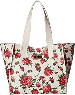 Betsey Johnson - Work Tote w/ Monogram Lock
