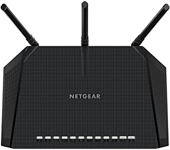 NETGEAR Smart WiFi Router with Dual Band Gigabit for Amazon Echo/Alexa - AC1750 (R6400-100NAS)