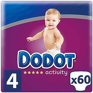 Dodot Activity - Pañales Talla 4, 60 Pañales, 9-14 kg