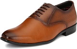 San Frissco Men's Tan Oxford Shoes - 7 UK