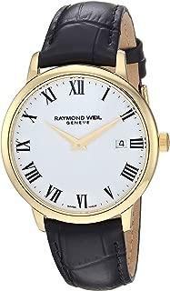 Raymond Weil Men's 5488-PC-00300 Toccata Analog Display Quartz Black Watch